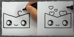 amor dibujos faciles
