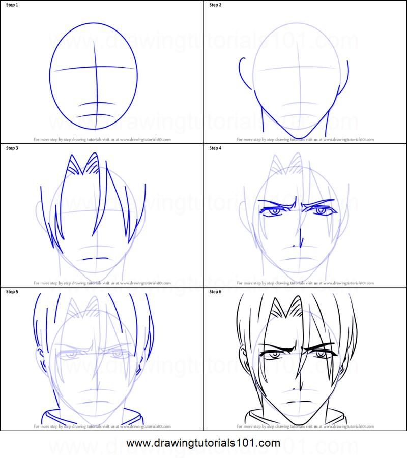 anime dibujar caras rostros dibujos fáciles paso a paso a lápiz