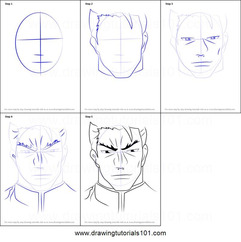 personaje anime dibujar caras rostros dibujos fáciles paso a paso a lápiz