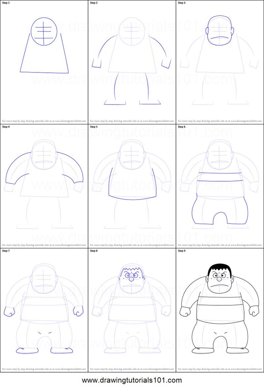 chico animé dibujar cuerpos personaje dibujos fáciles paso a paso a lápiz para colorear