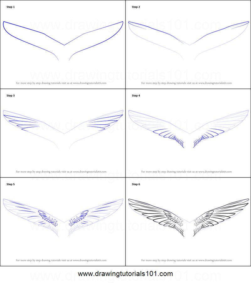 dibujos fáciles de alas de unicornio paso a paso unicornios alados