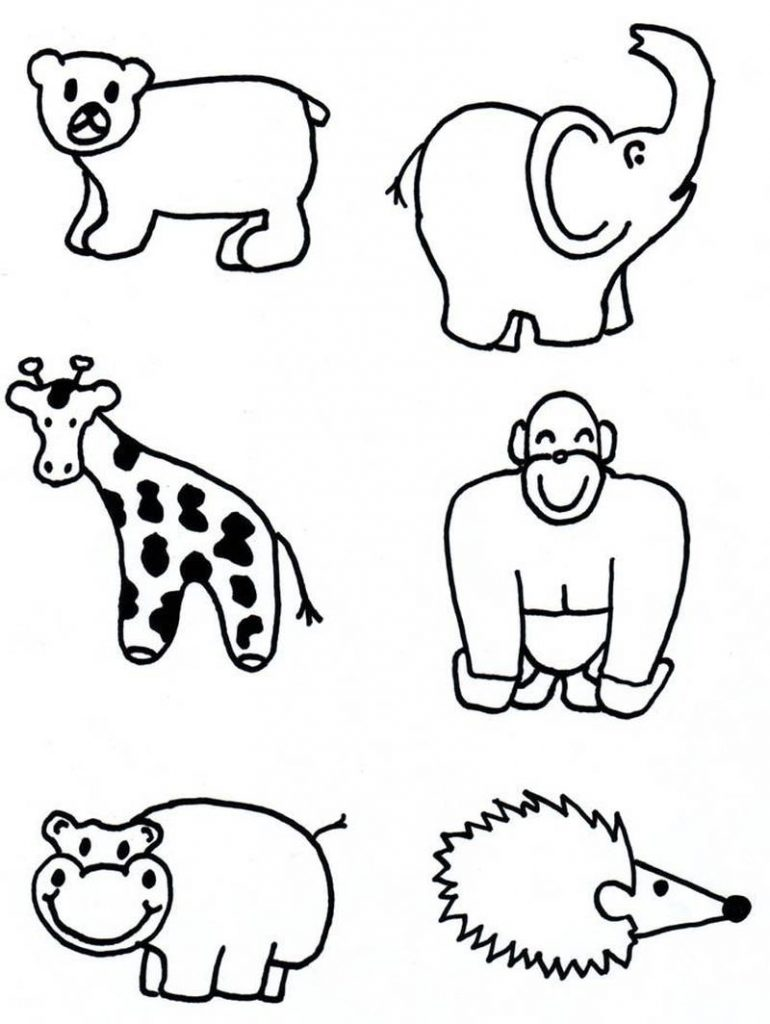 Dibujos De Animales Faciles Para Hacer Paso A Paso