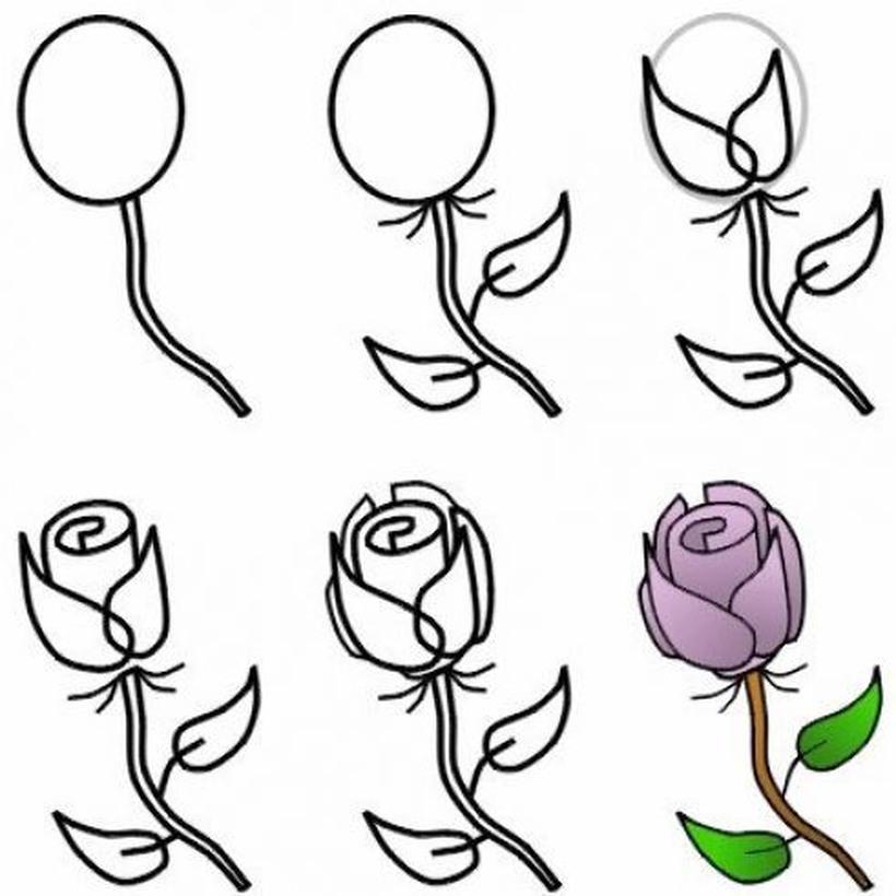 Dibujos De Amor Faciles A Lapiz Todo Paso A Paso