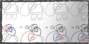 navidad dibujos faciles